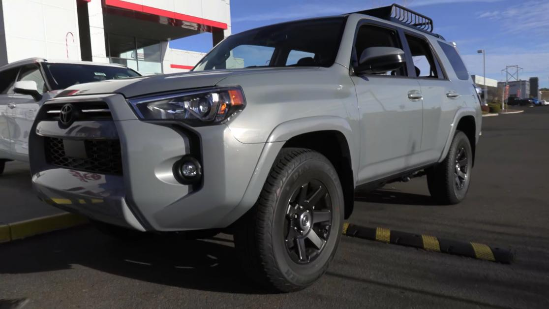 wally's car of the week - the 2021 toyota 4runner 4x4