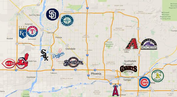 Spring Training ss Back and That Means Significant Revenue for Arizona's Economy