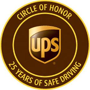 UPS Honors Arizona Drivers for 25 Years of Safe Driving