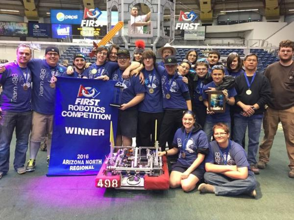 Local Valley High School Robotics Team Qualifies for World Championship